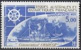 TAAF 1982 Yvert Poste Aérienne 72 Neuf ** Cote (2015) 2.30 Euro Bateau Commandant Charcot - Poste Aérienne
