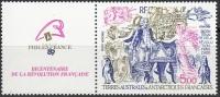 TAAF 1989 Yvert Poste Aérienne 107 Neuf ** Cote (2015) 6.10 Euro Bicentenaire De La Révolution Française - Poste Aérienne