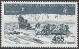 TAAF 1982 Yvert Poste Aérienne 74 Neuf ** Cote (2015) 5.40 Euro Traîneau à Chiens - Poste Aérienne
