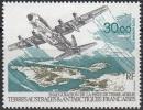 TAAF 1993 Yvert Poste Aérienne 128 Neuf ** Cote (2015) 14.20 Euro Avion Et Piste De Terre Adélie - Poste Aérienne