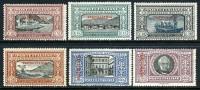 Tripolitania #11-16 Mint Lightly Hinged Manzoni Issue From 1924 - Tripolitania