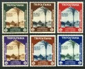 Tripolitania #73-78 Mint Hinged Colonial Arts Issue From 1934 - Tripolitania