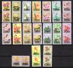 Fleurs Surchargées KATANGA,  23 / 39 **en Paire,  Cote 170 €, - Katanga