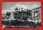 SALERNO - EBOLI - OSPEDALE C. R. I. N°19 E VILLA DE FALCO - CARTOLINA CON PIEGA - Salerno