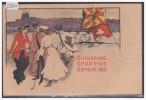 GENEVE - QUINZAINE SPORTIVE 1905 - B ( 2 TROUS D'EPINGLE ) - GE Genève