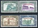 Tripolitania B50-53 Mint Lightly Hinged Semi-Postal Set From 1930 - Tripolitania
