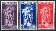 Tripolitania C1-3 Mint Hinged Ferruci Air Mail Issue From 1930 - Tripolitania