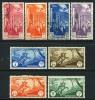 Tripolitania C8-15 Mint/Used Air Mail Set From 1931-32 - Tripolitania