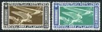 Tripolitania C27-28 Mint Hinged Air Mail Set From 1933 - Tripolitania
