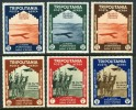 Tripolitania C43-48 Mint Lightly Hinged Air Mail Set From 1934 - Tripolitania