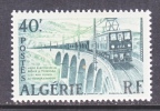ALGGERIA   283   *   TRAIN    BRIDGE - Algeria (1924-1962)