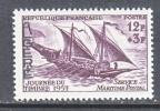 ALGGERIA   B 87   *   STAMP DAY    SHIP - Algeria (1924-1962)