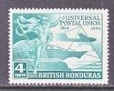 BRITISH HONDURAS  137   *   UPU - British Honduras (...-1970)