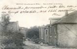 Montjau (arrondissement De Millau) - Route De Rodez Vue Du Chateau - Unclassified