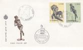 Europa CEPT - Sculptures - Saint Marin - Document De 1974 - Lettres & Documents