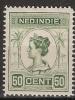 Ned Indie 1913 Wilhelmina 50 Ct NVPH 129 Ongestempeld/MH/* - Nederlands-Indië