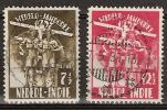 Ned Indie 1937 Jamboree - Scouting NVPH 226-227 Gestempeld - Nederlands-Indië
