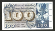 [CC] SVIZZERA / SUISSE / SWITZERLAND - NATIONAL BANK - 100 FRANCS / FRANKEN (1963) SAINT MARTIN - Svizzera