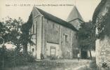 36 LE BLANC / Ancienne Eglise Saint-Cyran / - Le Blanc