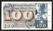 [CC] SVIZZERA / SUISSE / SWITZERLAND - NATIONAL BANK - 100 FRANCS / FRANKEN (1970) SAINT MARTIN - Svizzera