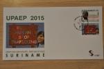 REP. SURINAME 2015 FDC E 387 UPAEP BLANK - Surinam