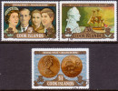 COOK ISLANDS 1970 SG #328-330 Compl.set Used Royal Visit To New Zealand - Cook