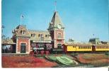 The Disneyland Entrance   The Santa Fe And Disneyland Railroad Station, Anaheim, California - Disneyland