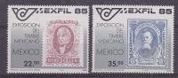 Mexico 1985 Mexfil 2v ** Mnh (25263) - Mexico