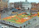 Belgique > Flandre Occidentale > BRUGGE Grand´Place Tapis De Fleurs Flower Cartpet*PRIX FIXE - Brugge