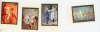 Monet,Degas,Renoir-Congo RP 1974-YT A198/201***MNH-NON Dentelé - Mint/hinged