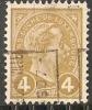 Luxembourg 1907 Prifix Nr. 35A - Prematasellados