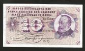 [CC] SVIZZERA / SUISSE / SWITZERLAND - NATIONAL BANK - 10 FRANCS / FRANKEN (1971) G. KELLER - Svizzera