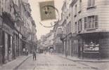 EVREUX - La Rue Grande - Papeterie - Théatre D'Evreux Bureau De Location - Animé - Evreux