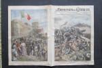 LA DOMENICA DEL CORRIERE 1916 WW1 ALPINI MALGA FOSSETTA MONTE MAGARI - CASTELLO TRIESTE TRICOLORE - Bücher, Zeitschriften, Comics