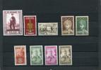 SAAR 1955/56 MNH. - 1947-56 Gealieerde Bezetting