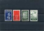 SAAR 1954/55 CTO-USED. - 1947-56 Gealieerde Bezetting