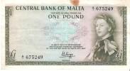 Malta - Pick 29 - 1 Pound 1969 - VF+ - Malta