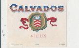 AN 58 / ETIQUETTE     CALVADOS    VIEUX - Labels