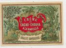 AN 60 / ETIQUETTE   CREME DE CACAO-CHOUVA  A LA VANILLE - Labels
