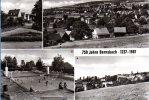 Lauter Bernsbach - S/w Mehrbildkarte 3  750 Jahre Bernsbach - Bernsbach