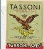 AN 89 / ETIQUETTE   TASSONI TIPICA CEDRATA DEL GARDA - Etiketten