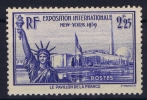 France: Yv Nr 426 MNH/**  Sans Charnière  1939