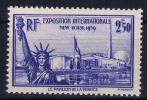 France: Yv Nr 458 MNH/**  Sans Charnière  1940 - Frankrijk