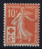 France: Yv Nr  147 MNH/**  Sans Charnière      1914   Gum Iregular - Neufs