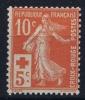 France: Yv Nr  147 MNH/**  Sans Charnière      1914   Gum Iregular