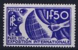 France: Yv Nr  327 MH/* Avec  Charnière   1936