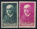 France: Yv Nr  377 + 377A MNH/**  Sans Charnière  1938 - Frankrijk