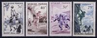France: Yv Nr  1072 - 1075 MNH/**  Sans Charnière  1956 - Frankrijk