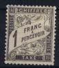 France: Yv Nr Taxe 22 MH/* Avec  Charnière   Cat Valeur € 1350