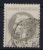 France: Yv Nr 27 Used Obl - 1863-1870 Napoleon III Gelauwerd